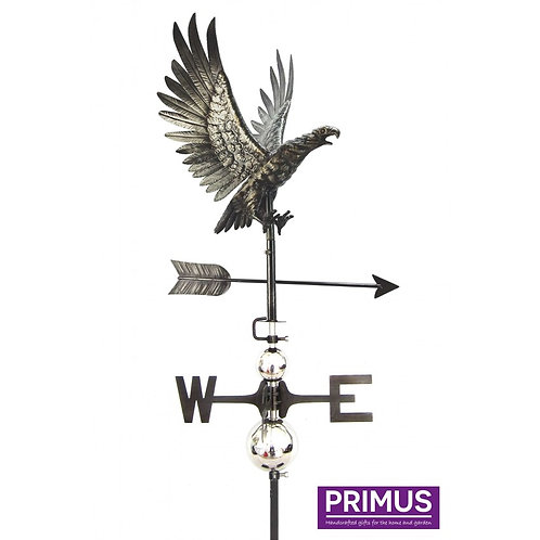 Eagle in Flight Weathervane with Garden Stake