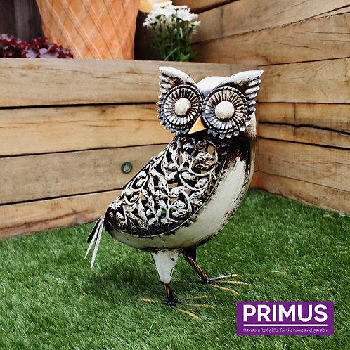 White Solar Owl