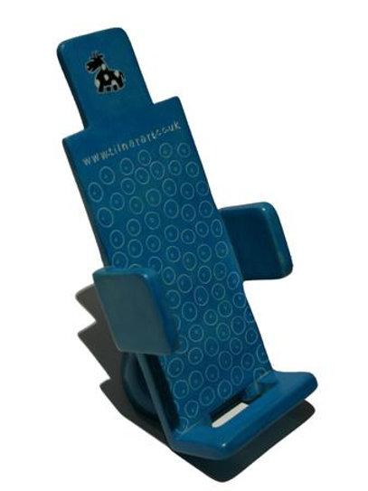 Soapstone Mobile Phone Holder - Blue