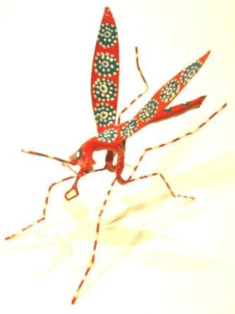 Hand Painted Tin Mosquito