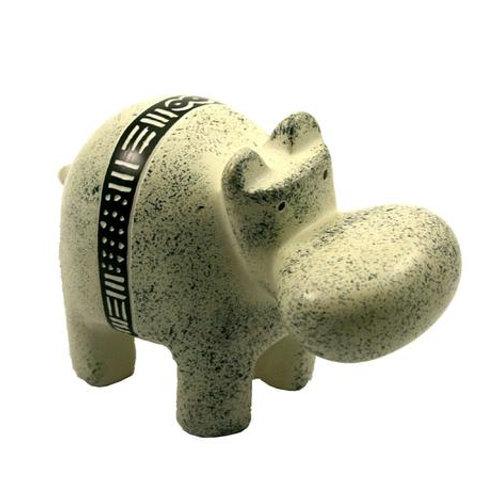Bogolan Belt Hippo - 10cm