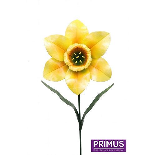 80cm Medium Metal Daffodil Garden Stake-