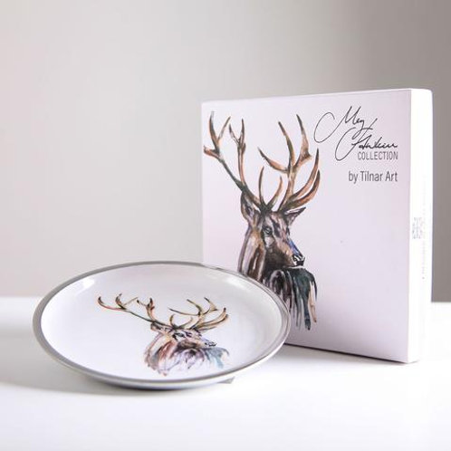 Stag Round Plate 20 cm