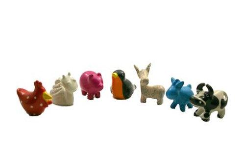 Mini Soapstone Farm Animals 3 cm