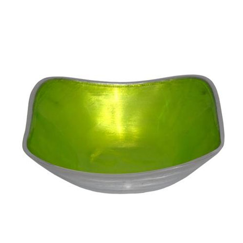Lime Square Bowl Small