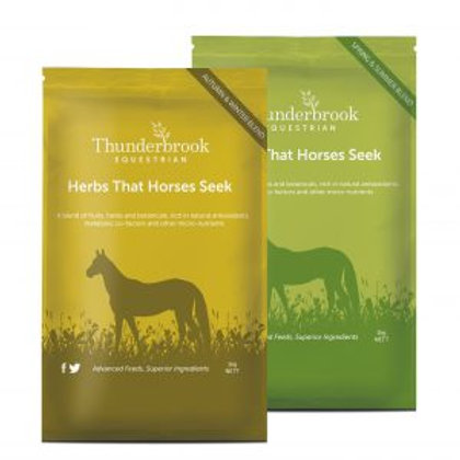 HERBS THAT HORSES SEEK
