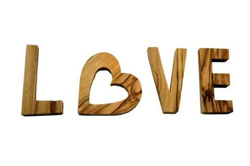 Olivewood Word - Love