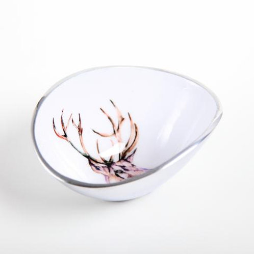 Stag Oval Bowl Petite