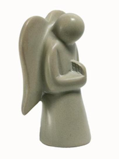 Natural Praying Angel - Small