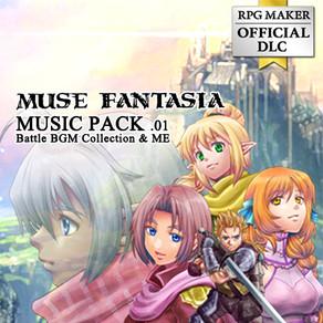 RPGツクール公式DLC  【MUSE FANTASIA MUSIC PACK 01】