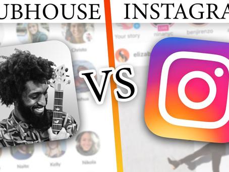 Instagram e ClubHouse e Criptografia de ponta a ponta