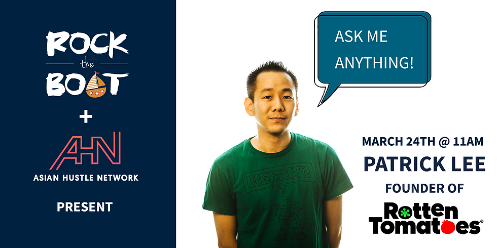 [Online] RTB x AHN: Ask Me Anything (AMA) With Patrick Lee