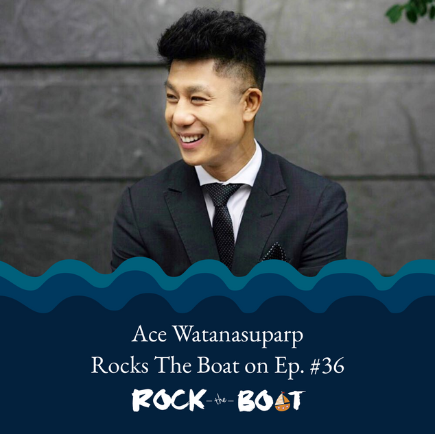 Ace W. Spot Dessert Bar - Rock The Boat Podcast