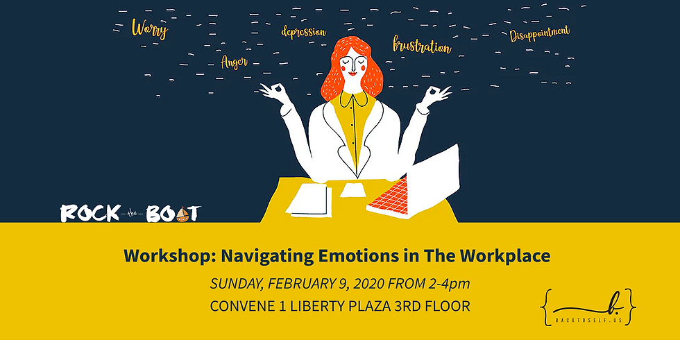 Journaling Workshop: Navigating Emotions in The Workplace