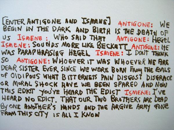 Antigonick