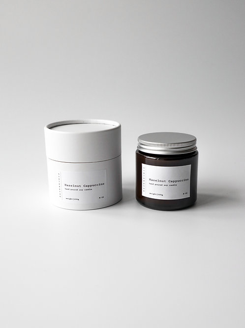 Hazelnut Cappuccino - Soy Wax Candle