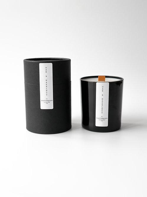 Oak & Hazelnut  - Soy Wax Candle