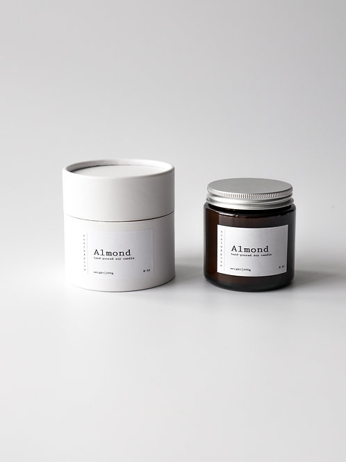 Almond - Soy Wax Candle