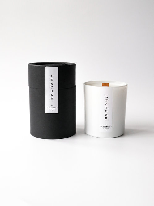 Leather  - Soy Wax Candle