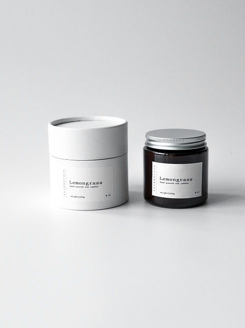 Lemongrass - Soy Wax Candle