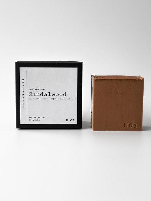 Sandalwood - Cleansing Bar