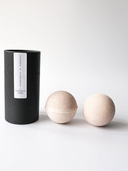 Orange & Cinnamon - Herbal Bath Bombs
