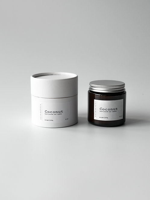 Coconut - Soy Wax Candle