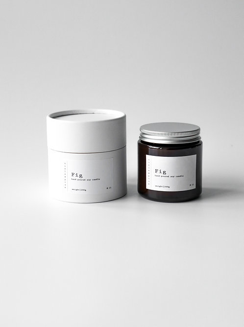 Fig - Soy Wax Candle