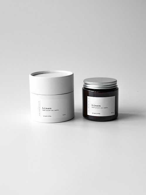 Linen -  Soy Wax Candle