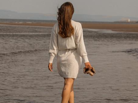 Neutral Knit Dress