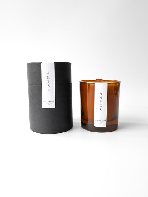 Amber  - Soy Wax Candle