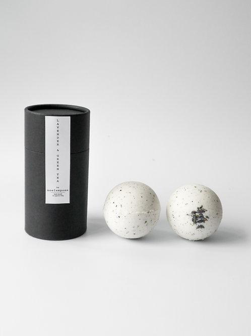 Lavender & Green Tea - Herbal Bath Bombs