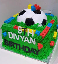 Lego, Football Cake