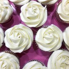 Rose flower Cupcakes