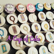 Religious Ceremony Cupcakes