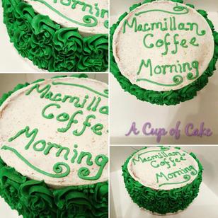 Charity Fundraiser Cake