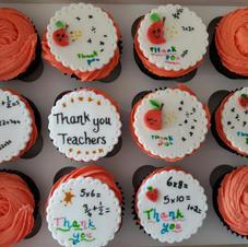 Thankyou Teacher Cupcakes