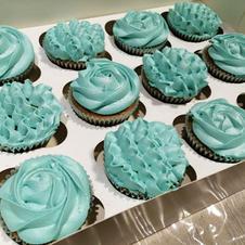 Low Sugar vanilla cupcakes