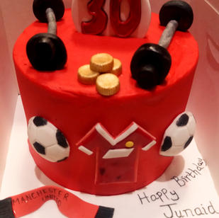 Custom Made Birthday Cake