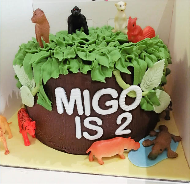 Animal/Jungle Themed Cake
