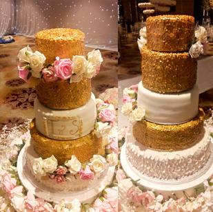 5 tier Wedding Cake -