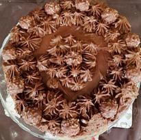 Nutella/Ferreo Rocher Cheesecake
