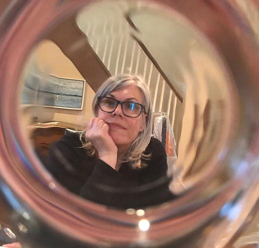 Nanci Miranda in glass