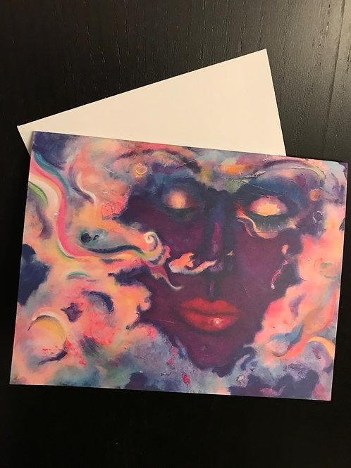 Greeting Card Blank The Dreamer