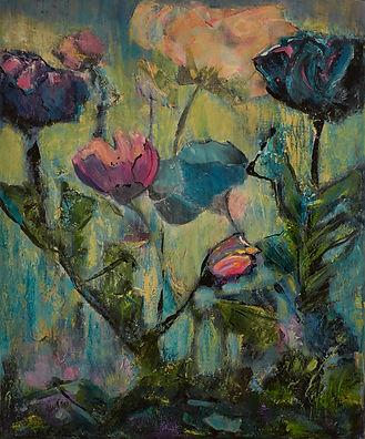 English Garden in Blues.jpg - Nanci Mira