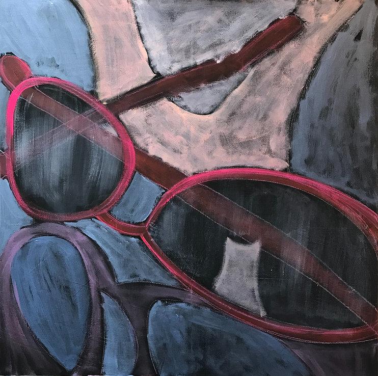 Reflections in Blue - nanci miranda