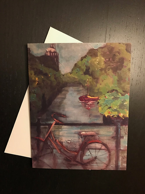 Greeting Card Blank Amsterdam Delight