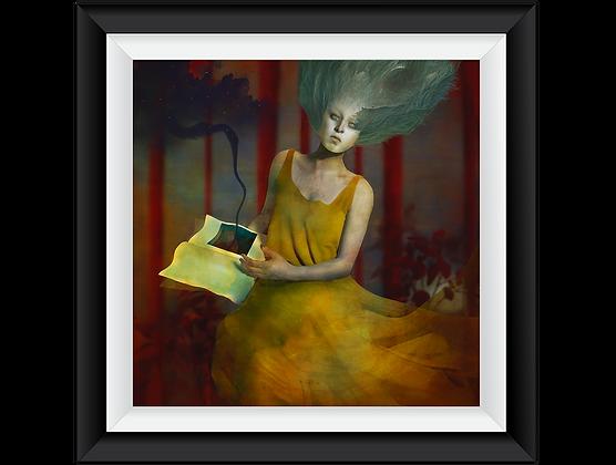 """""""Omen""""Art Print"""