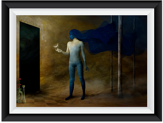 """""""The Night Brings a Gift for the Alchemists"""" Art Print"""