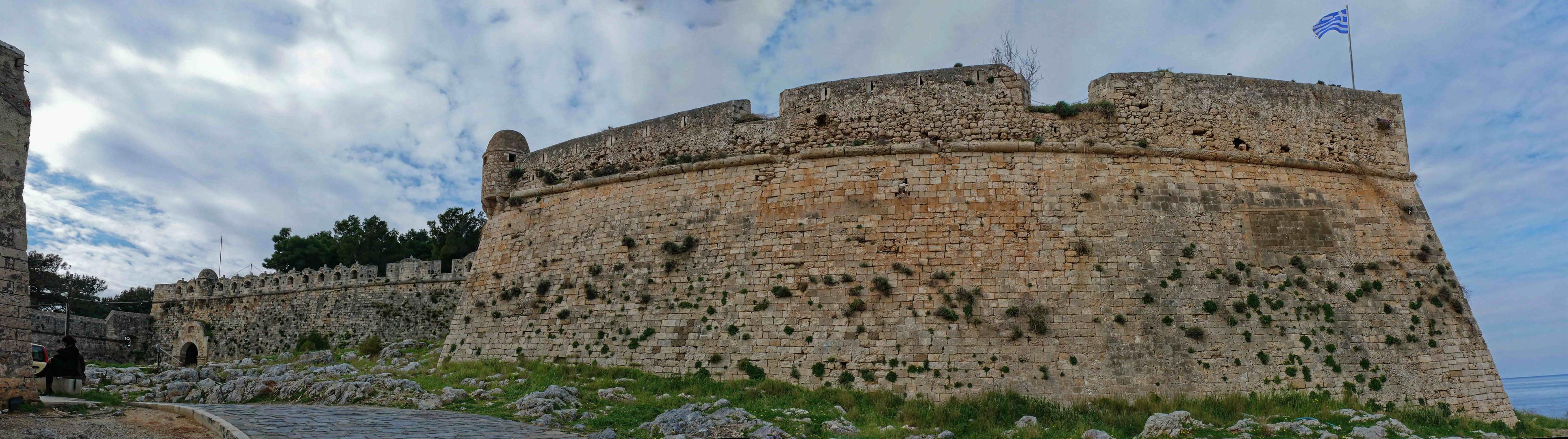 Fortezza fortress in Rethymno